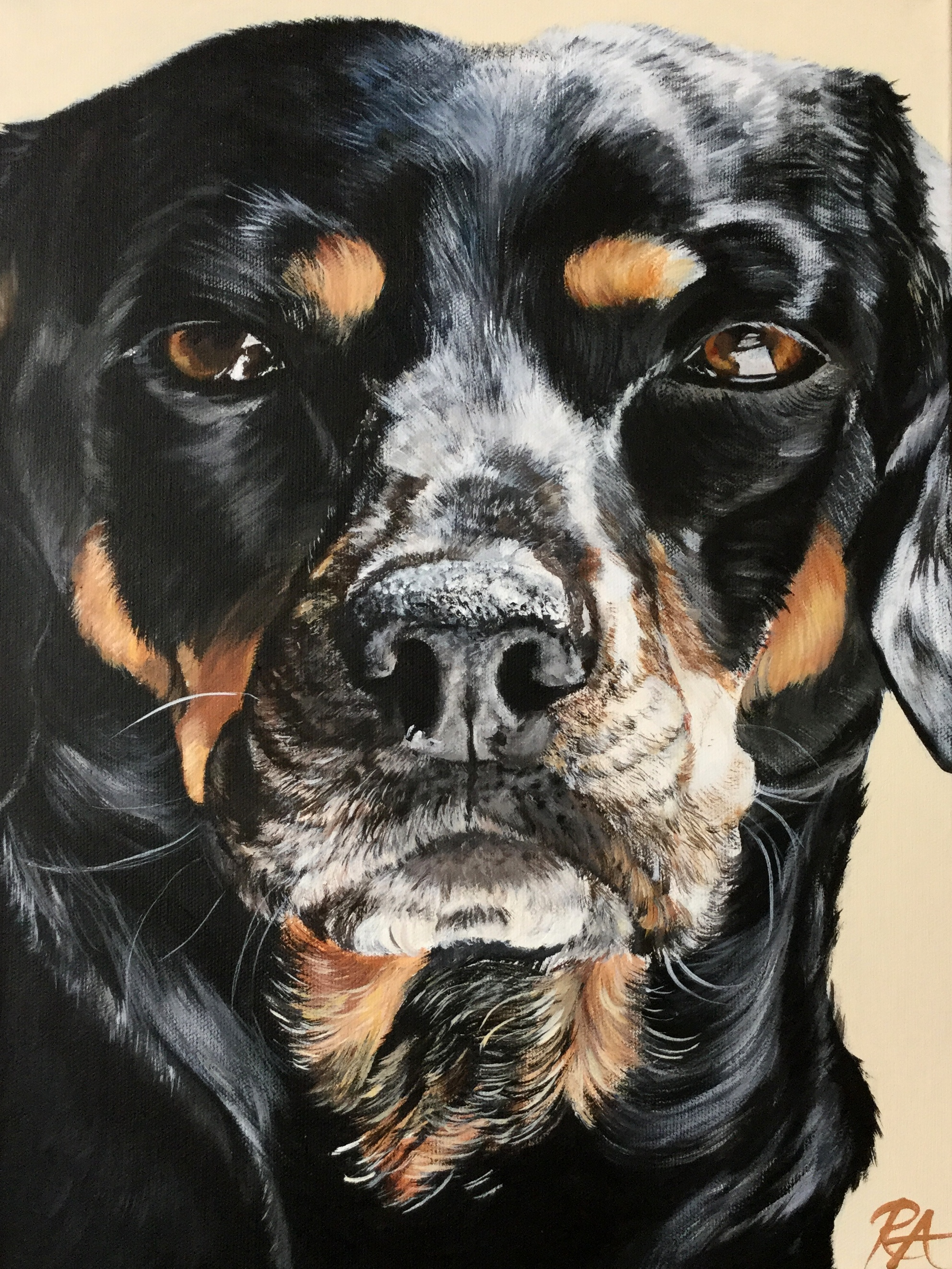 This is not your average pet portrait. - A Nose Prints portrait is a work of fine art that captures the emotion, personality, and soul of your beloved animal.