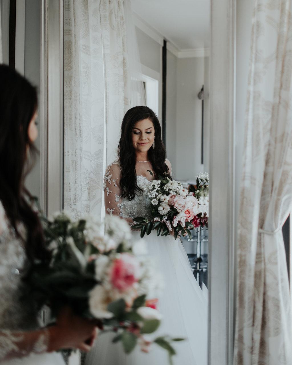 Tulsa Wedding Venue bride in room.jpg