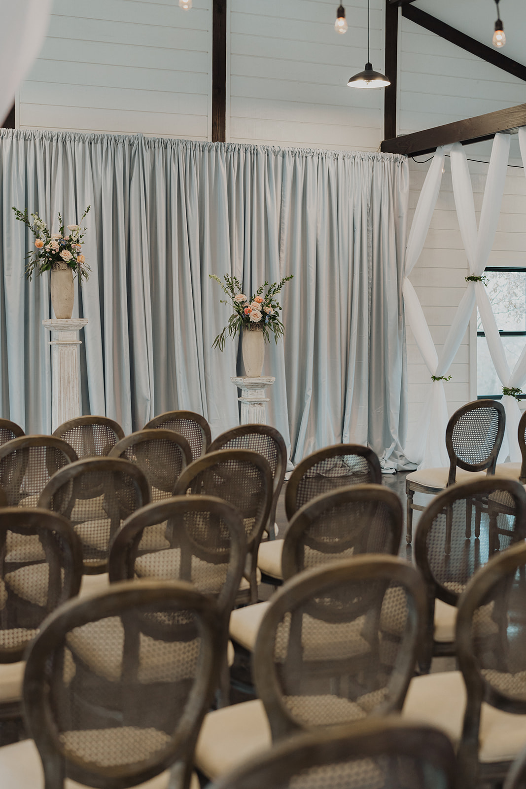 Indoor Ceremony Tulsa Wedding Venue Dream Point Ranch 1.jpg