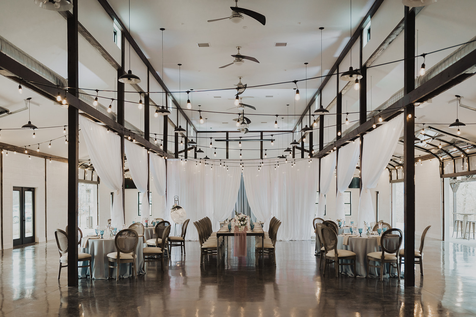 Indoor Ceremony Tulsa Wedding Venue Dream Point Ranch 43.jpg