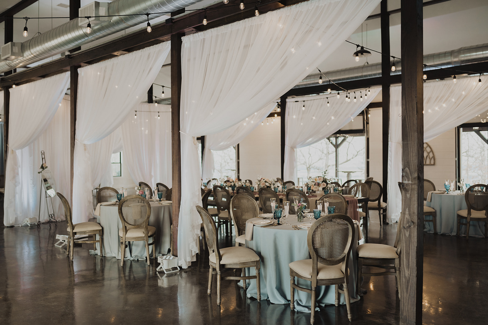 Indoor Ceremony Tulsa Wedding Venue Dream Point Ranch 44.jpg