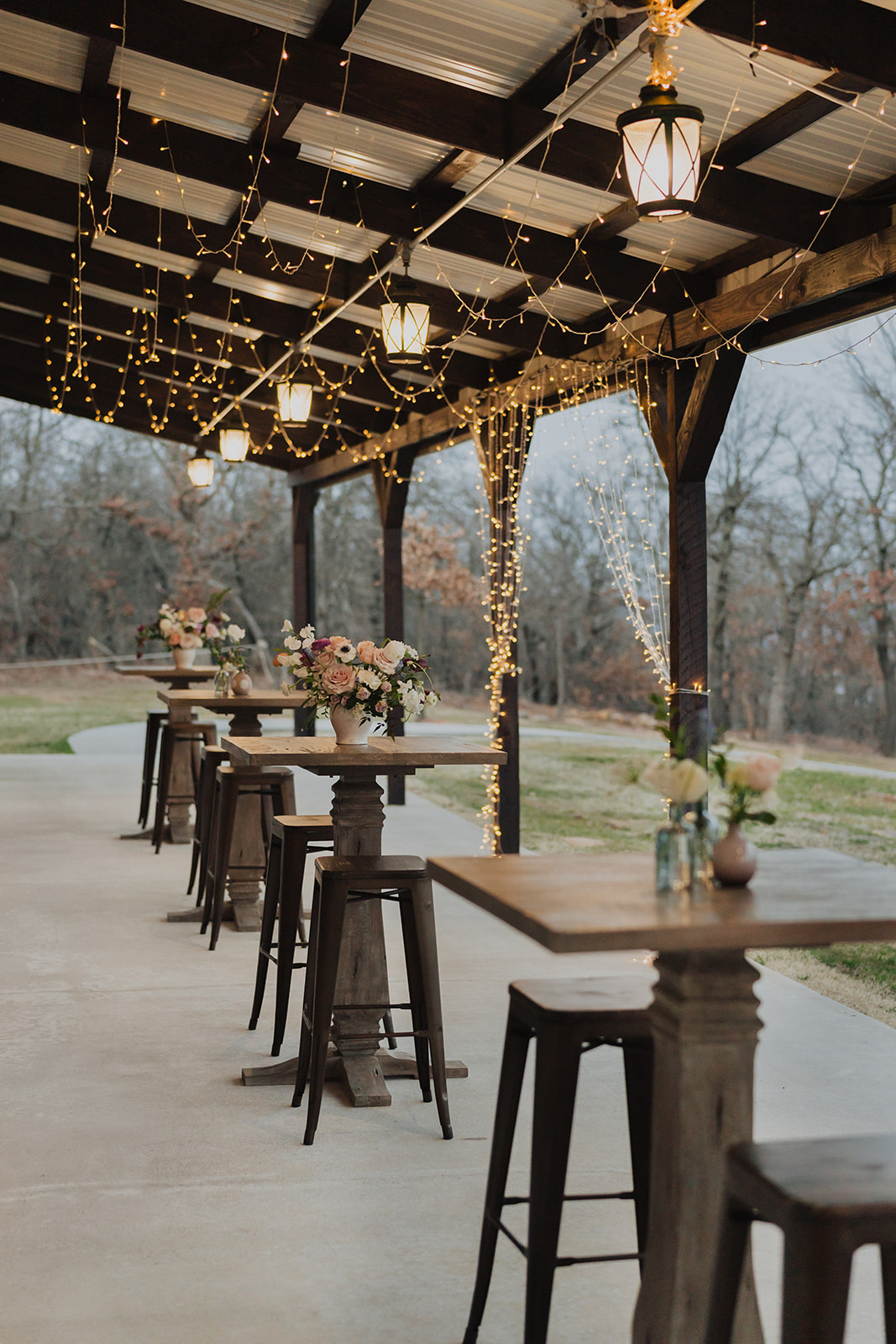 Indoor Ceremony Tulsa Wedding Venue Dream Point Ranch 66.jpg