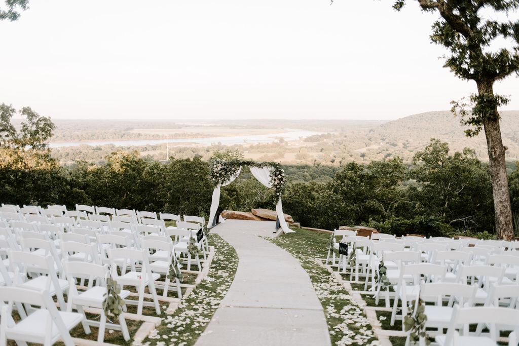 Tulsa White Barn Wedding Venue Outdoor Ceremony 19.JPG