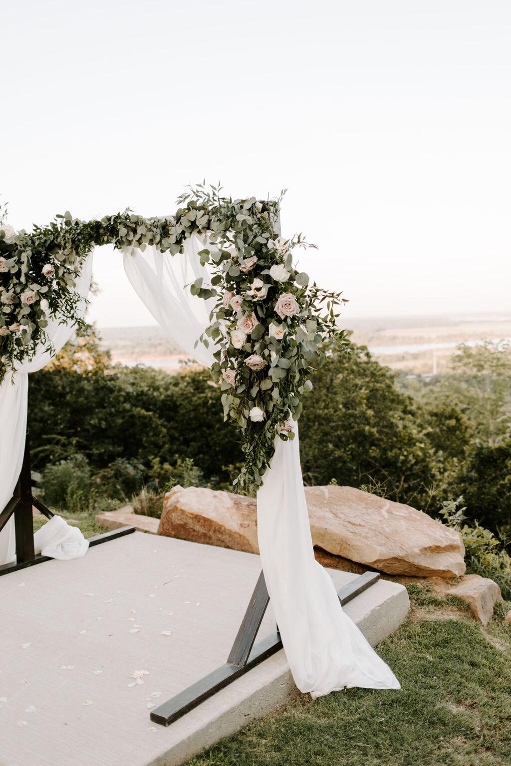 Tulsa White Barn Wedding Venue Outdoor Ceremony 22.JPG