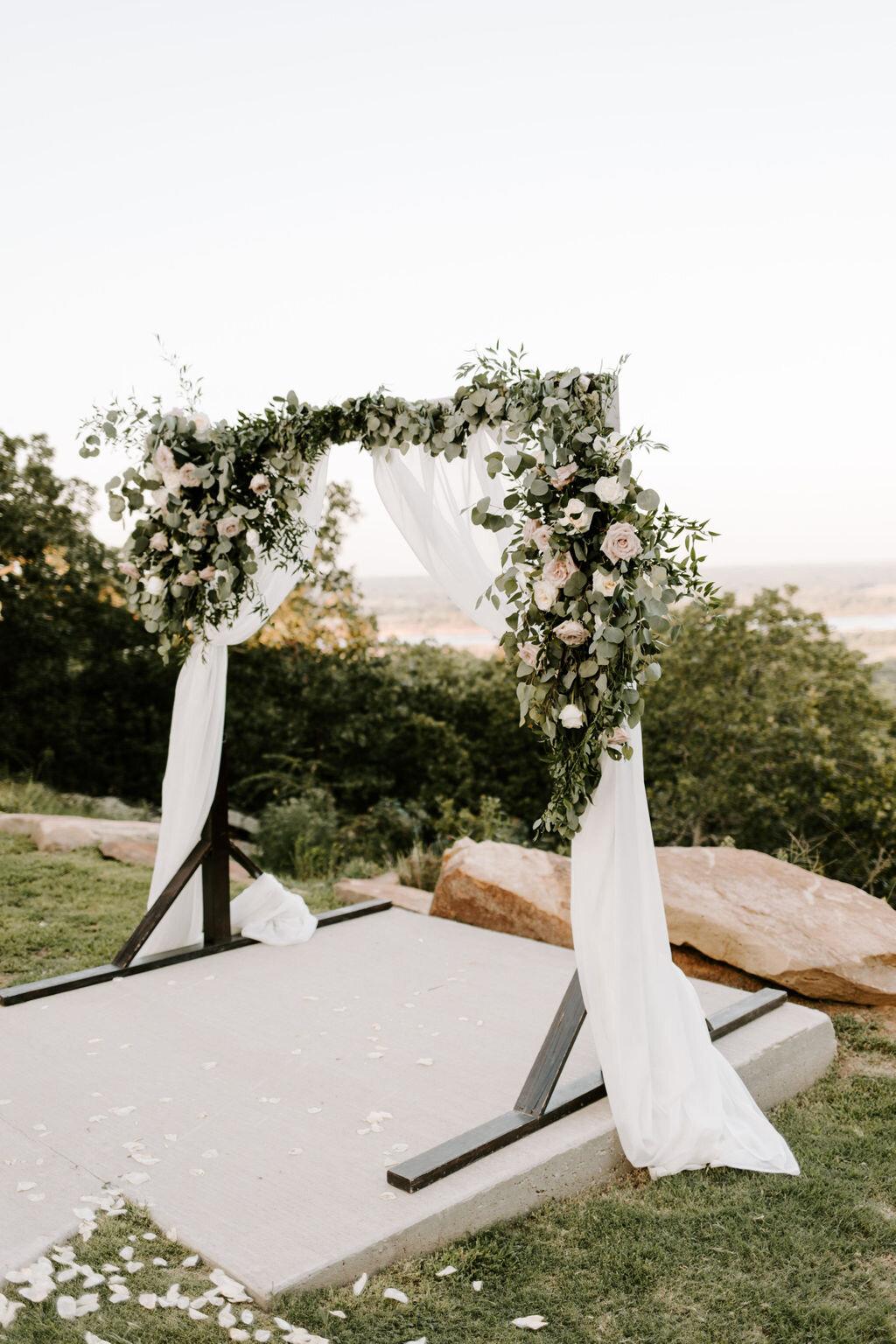 Tulsa White Barn Wedding Venue Outdoor Ceremony 23.JPG