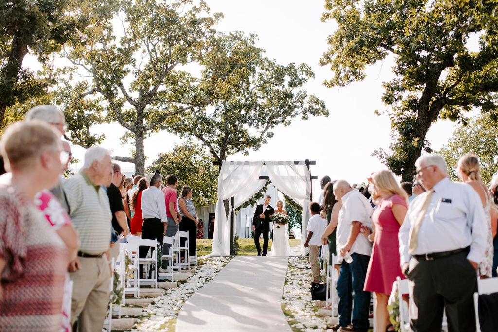Tulsa White Barn Wedding Venue Outdoor Ceremony 83.jpg