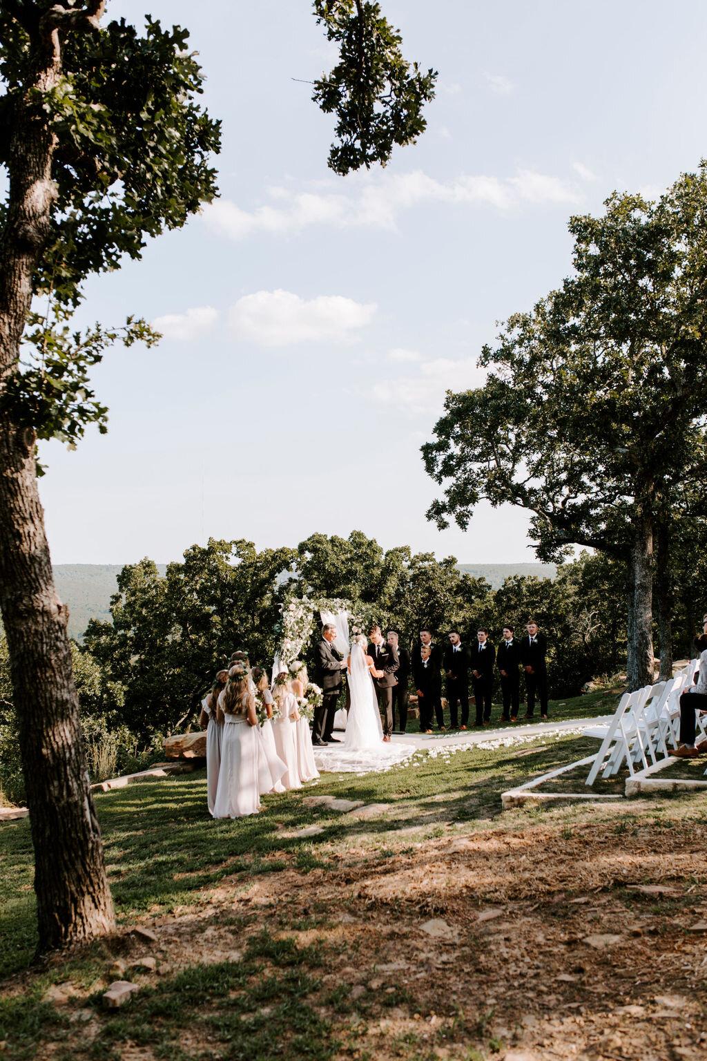 Tulsa White Barn Wedding Venue Outdoor Ceremony 91.jpg
