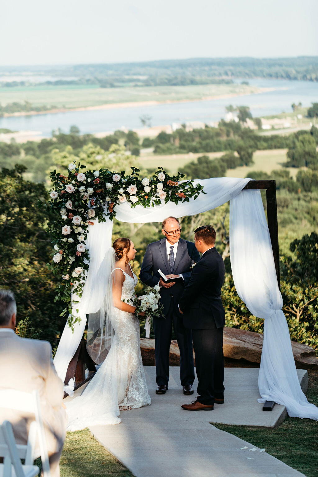Light, Airy Tulsa White Barn Wedding Venue with a view 58.jpg