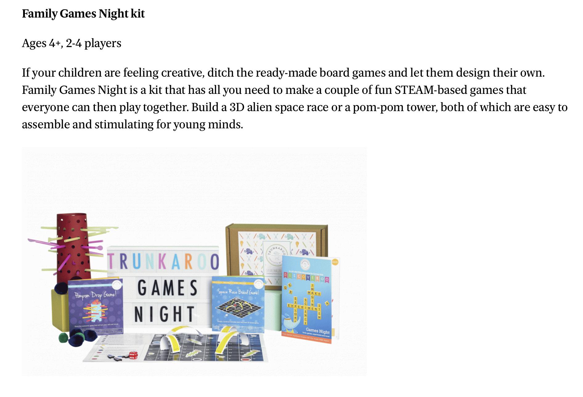 The Evening Standard UK - Best Board Games 2018