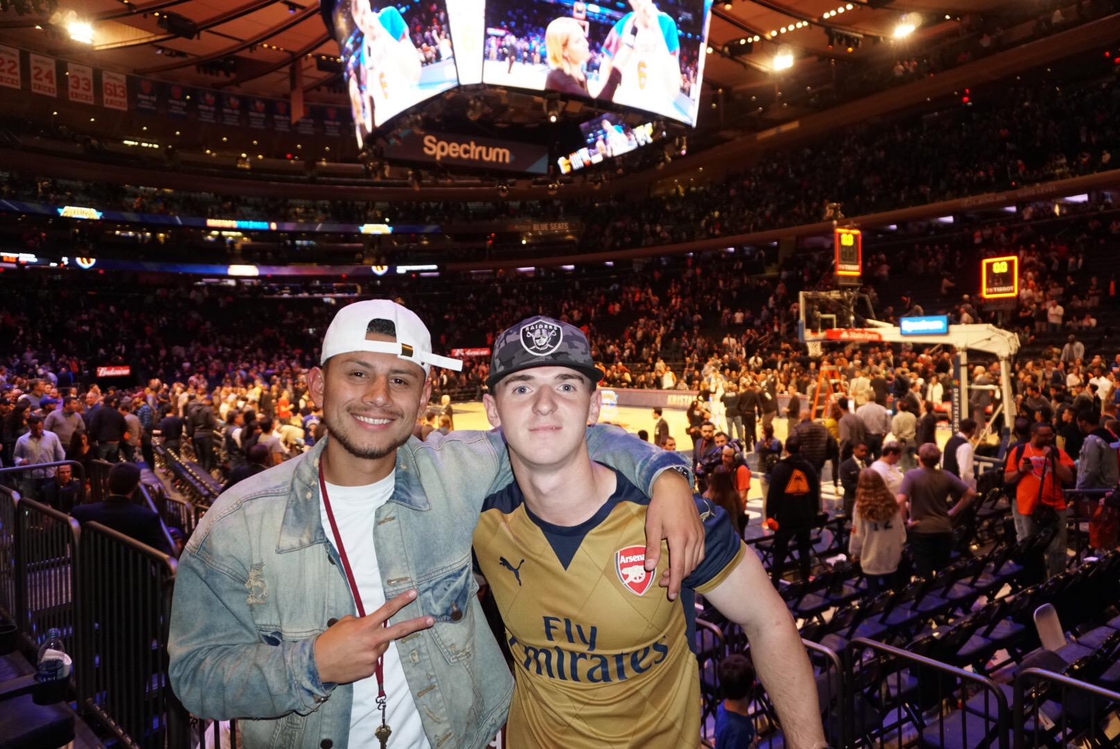 Madison Square Garden - New York, New York Porzingis Scores Career high 40 points