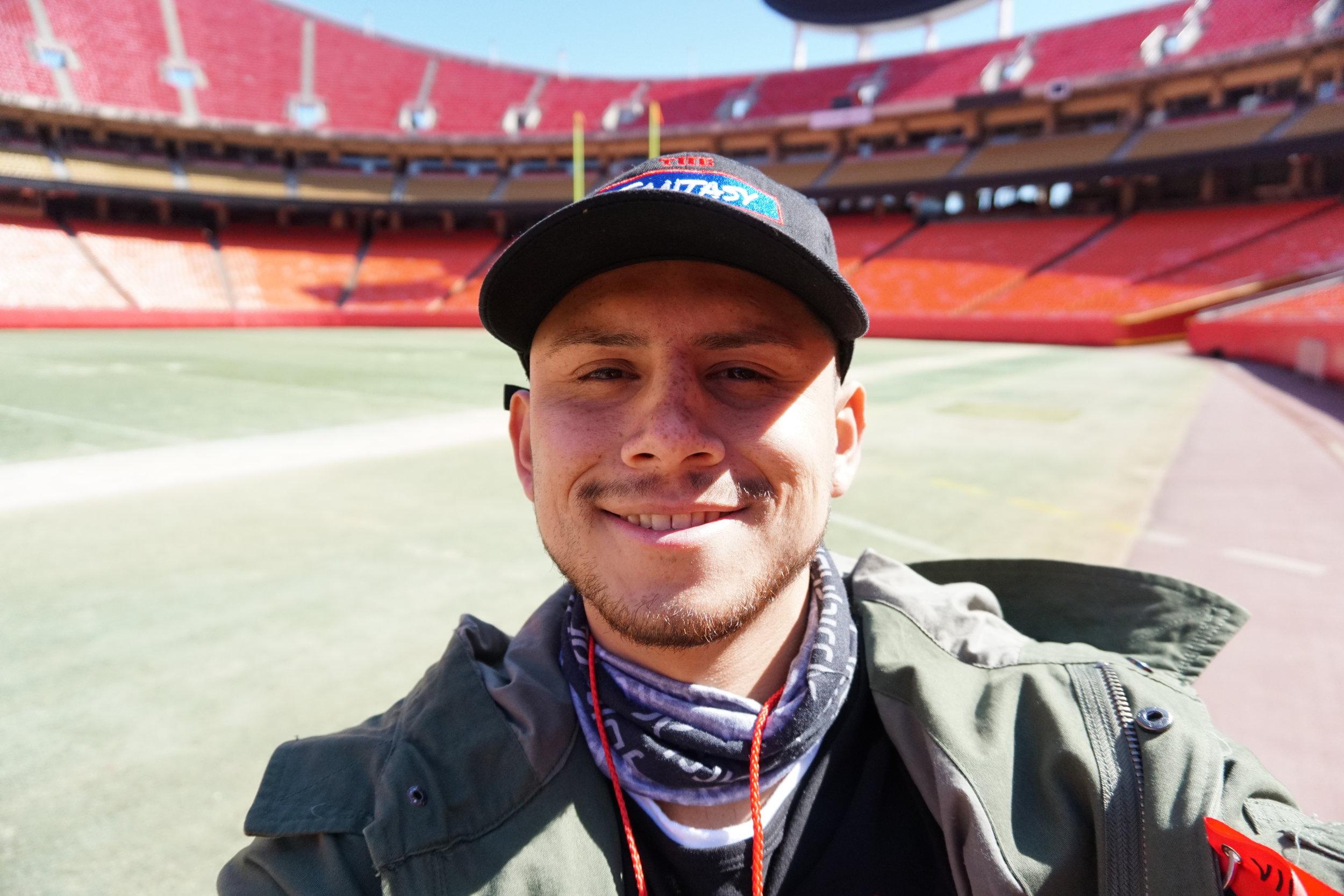 On Field Selfie.JPG
