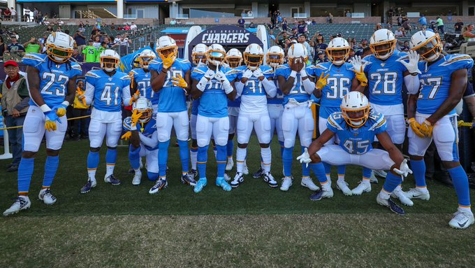 Photo via Chargers Twitter