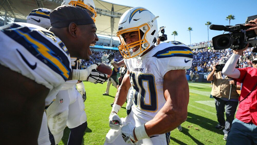 Courtesy Twitter of Los Angeles Chargers