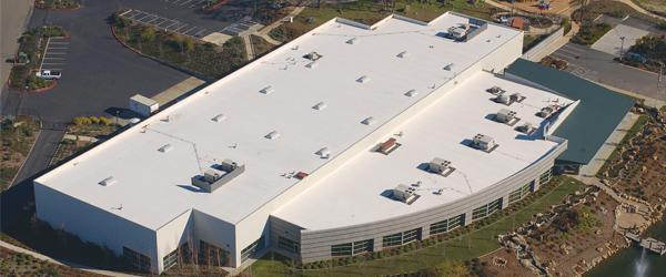 PVC Roof System  Photo: Carlisle SynTec