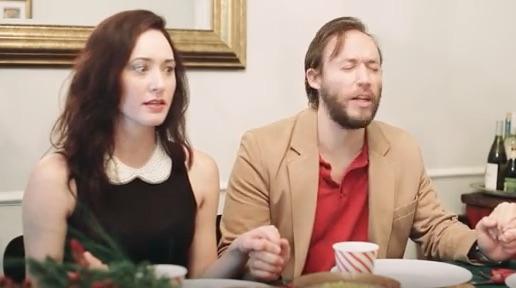 Non Religious Boyfriend Prays for Christmas