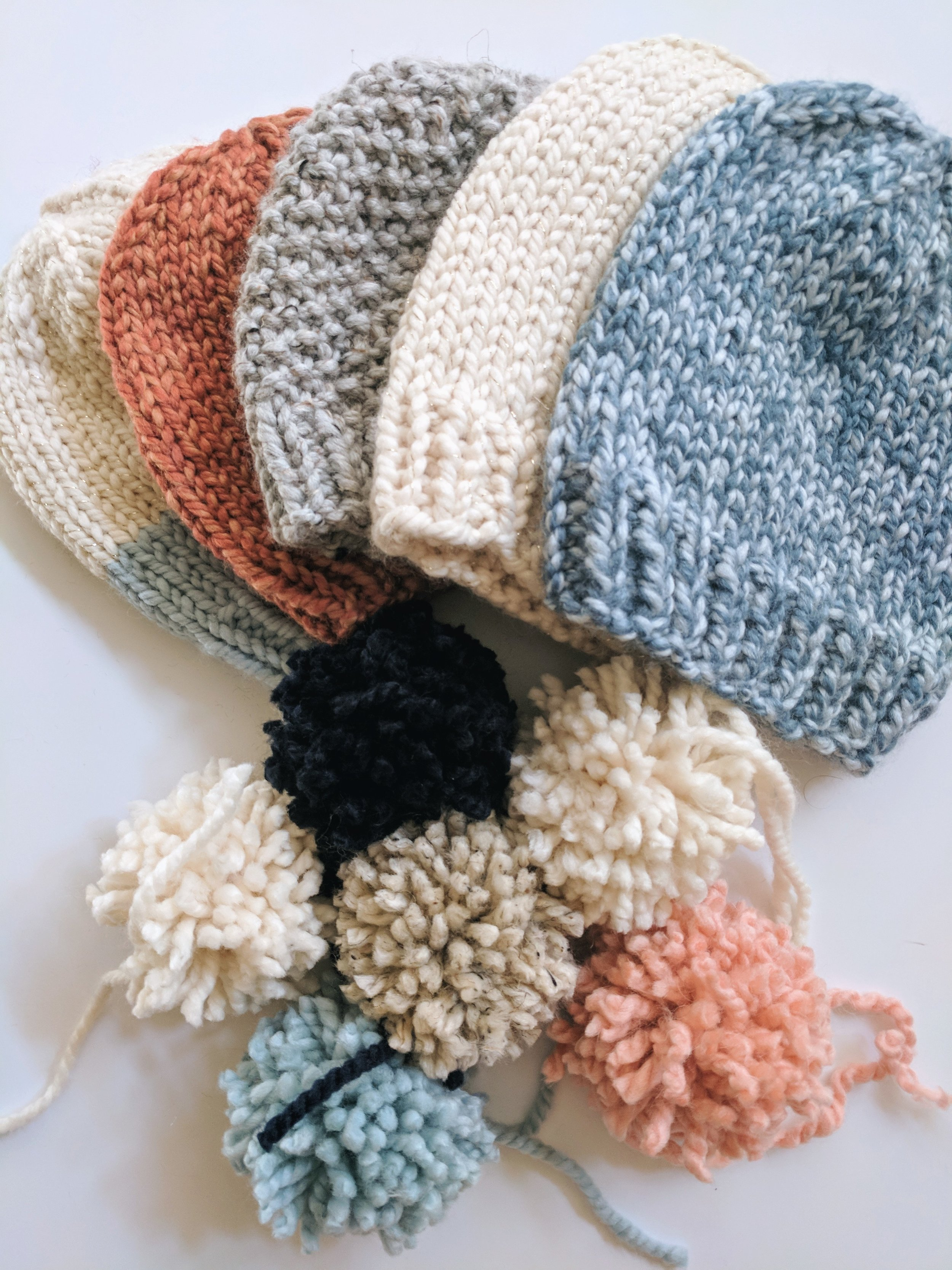 More hat designs + patterns are available for purchase  in my Etsy shop!