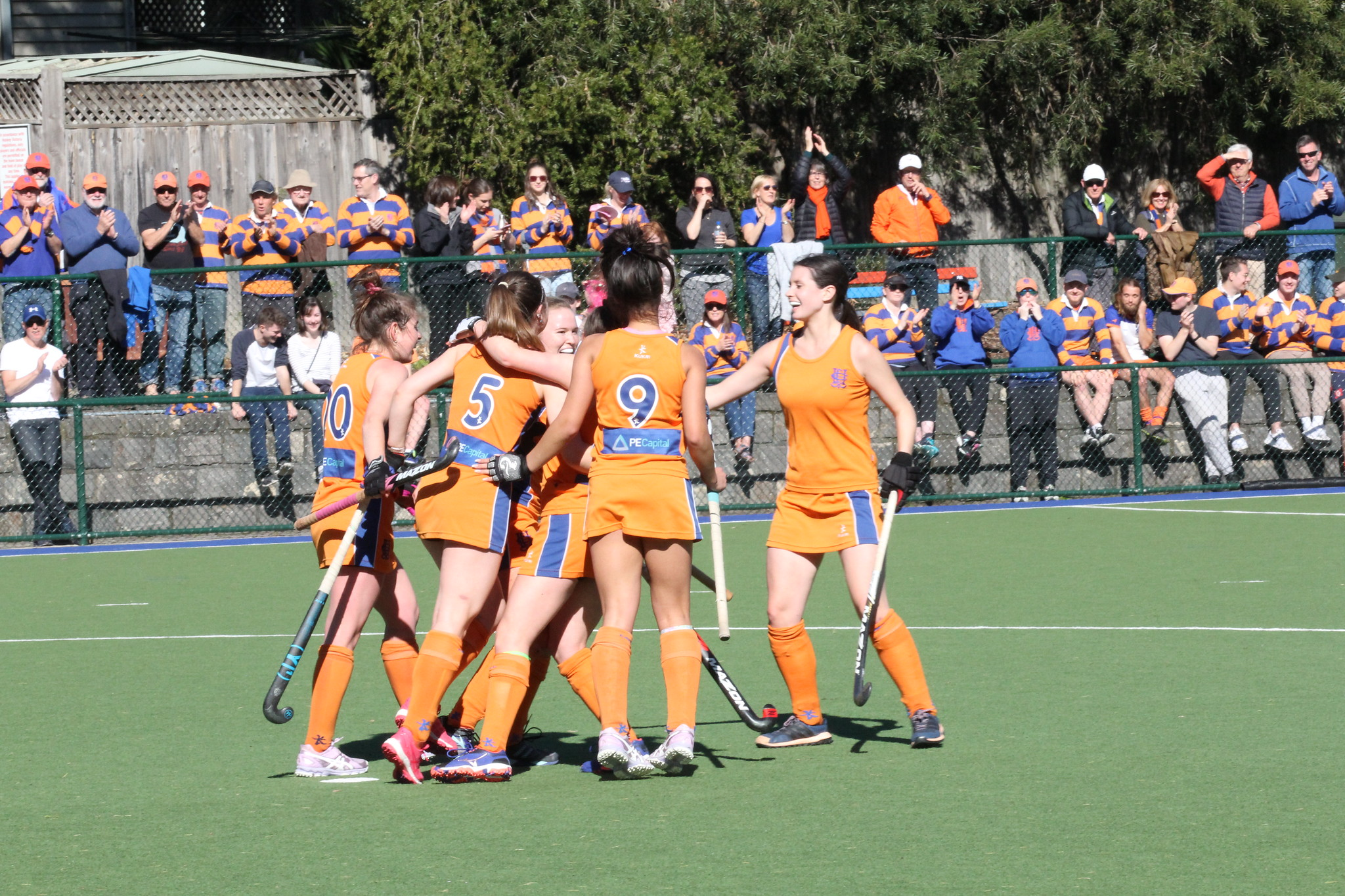 For some of the players, it was their first taste of Premier League finals hockey, however, all players sustained the pressure and rose to the occasion. Overcoming a shock early goal to TEM off a penalty corner in the third minute, the team fought back and dominated most of the play for the remainder of the match. - Brigid Watson
