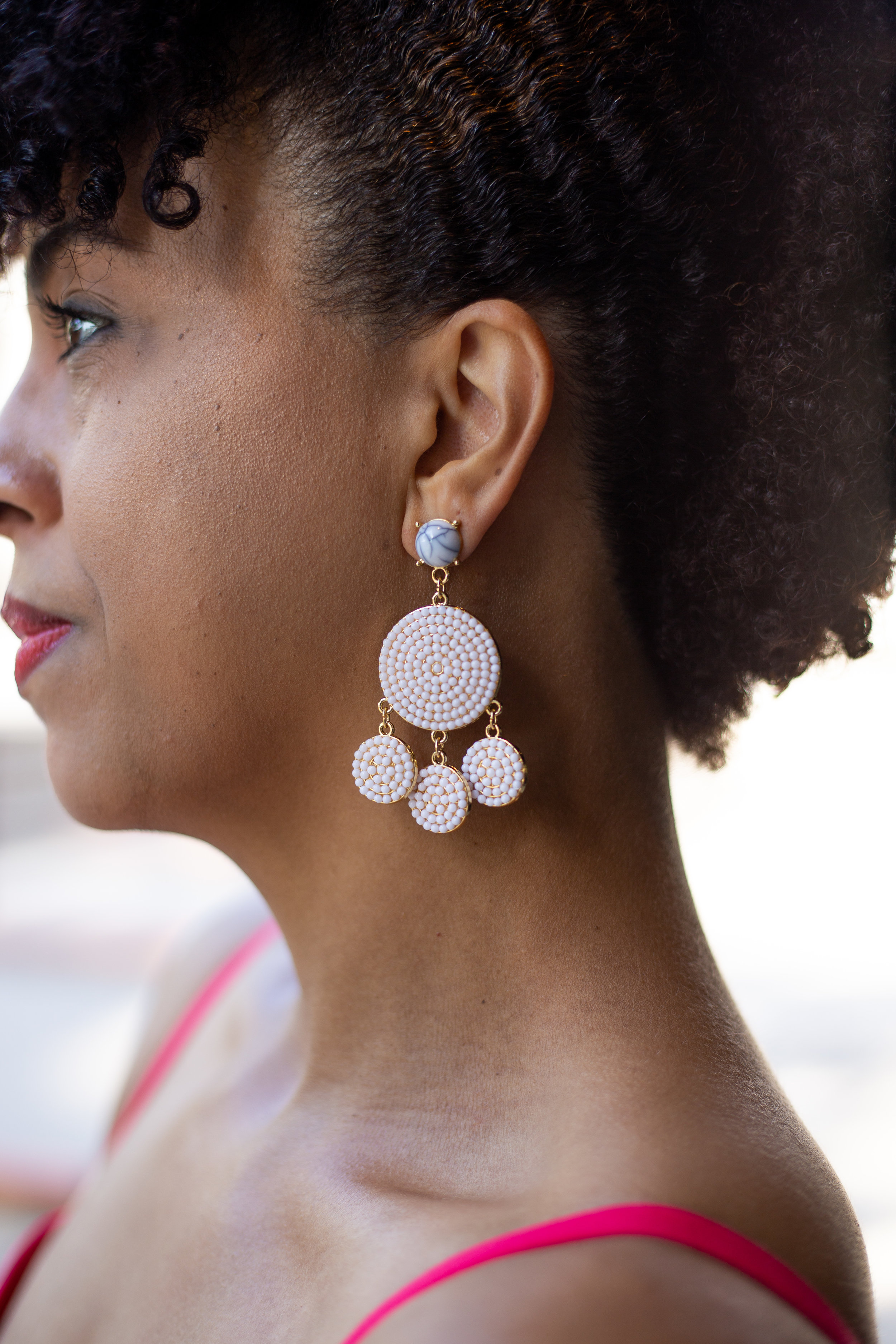 BaubleBar Drop Statement Earrings