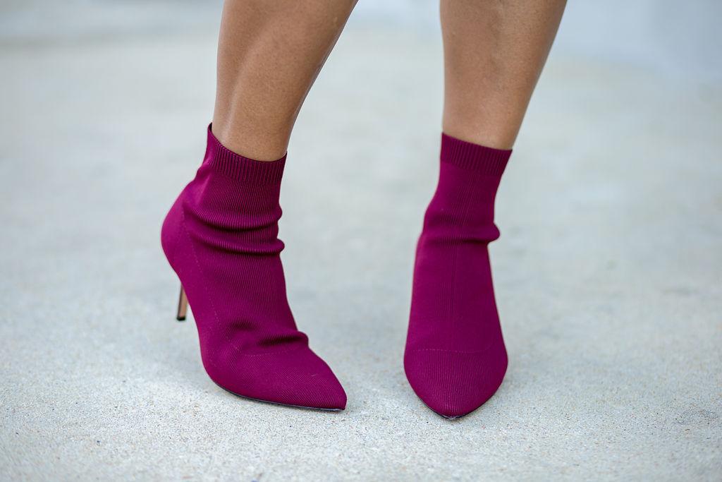 Stradivarius heeled ankle boot in burgundy.jpg