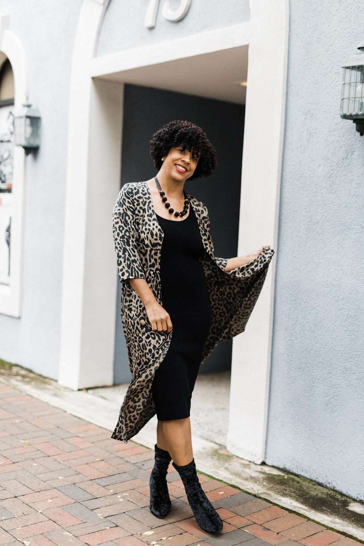 Asos Leopard Dress