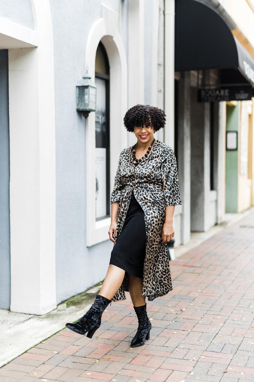 Leopard Dress from ASOS