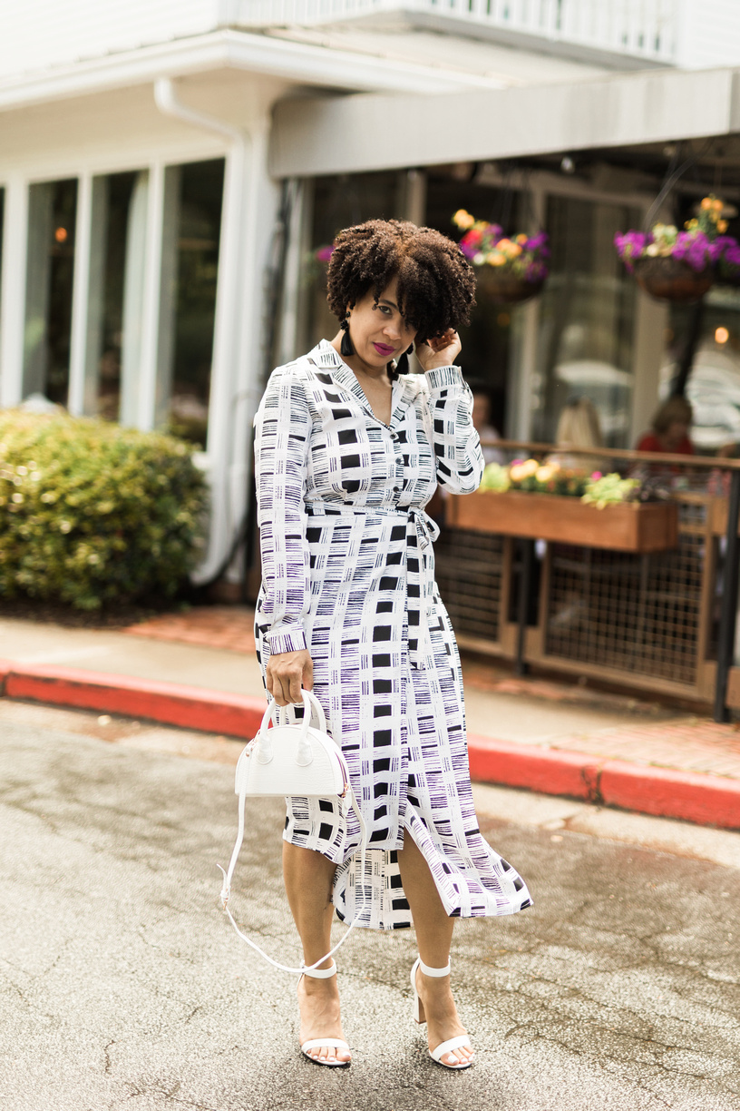 Style Over 40:  The perfect midi dress !
