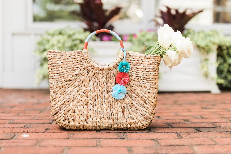 Raffia Straw bag