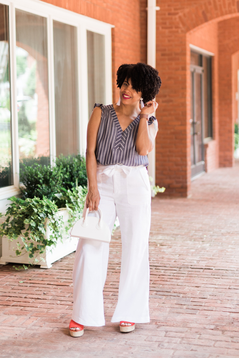 These linen pants will be listed on my Poshmark Closet soon (Size 8) or click this picture for store info.