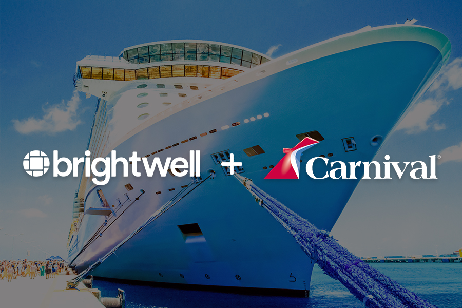 Carnival Cruise employees are paid through Brightwell.