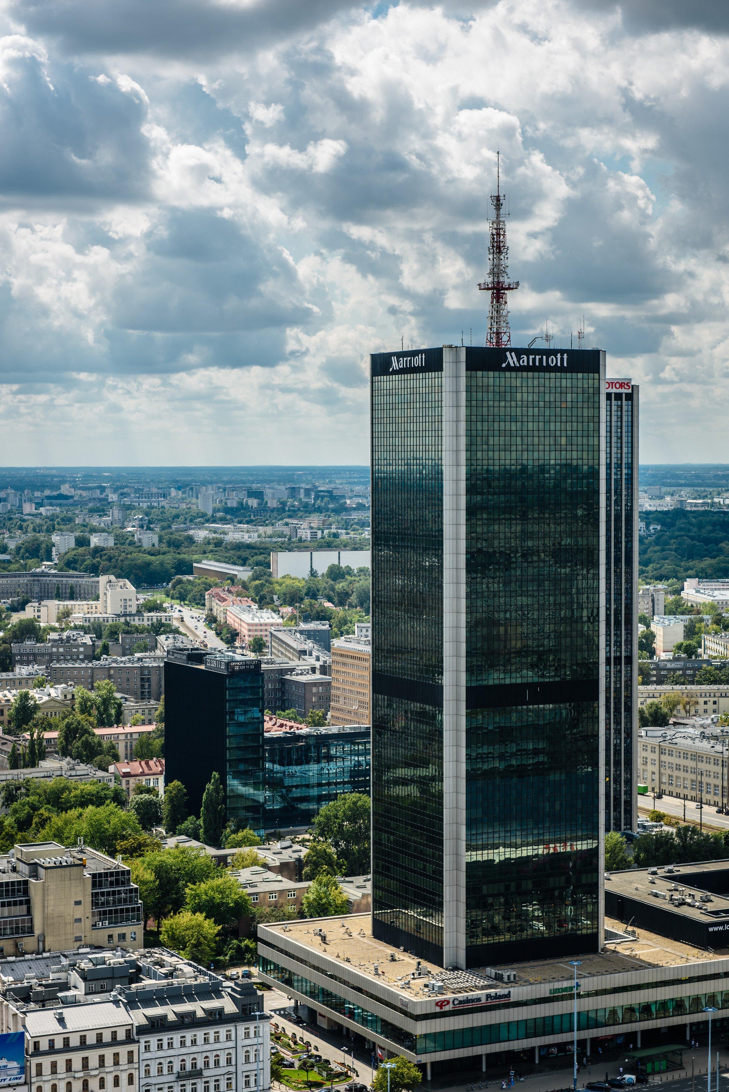 Marriott in Warsaw, Poland. Photo credit:   Michal Mrozek