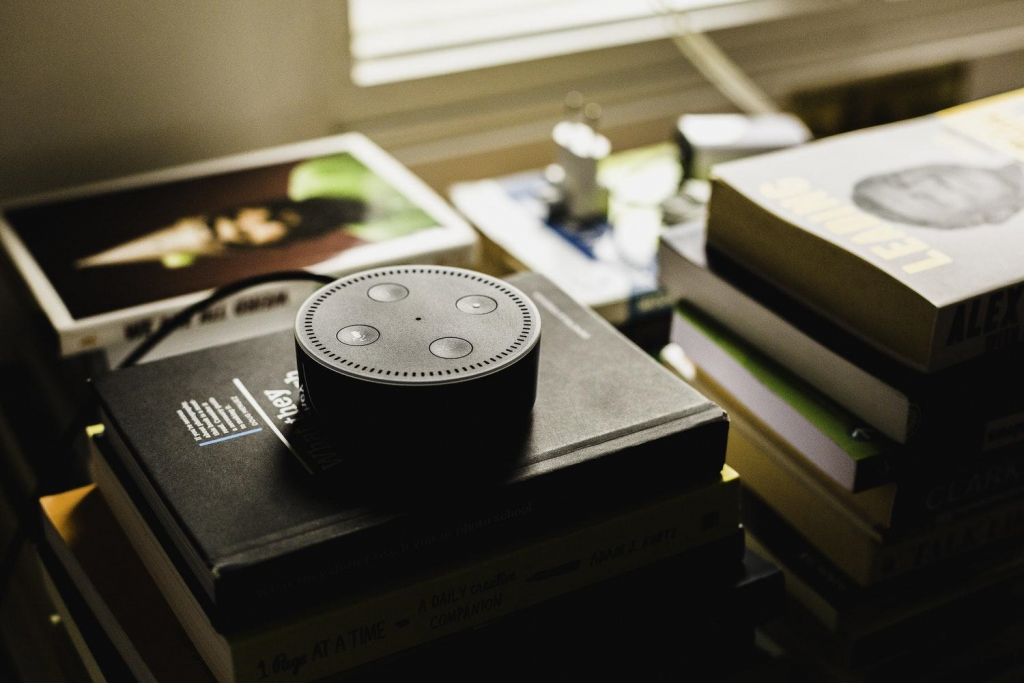 Amazon Echo Dot was Amazon's best-selling product site-wide, across any category during the 2017 holiday season. (Source:    Slate   ) Photo by    Andres Urena    on    Unsplash