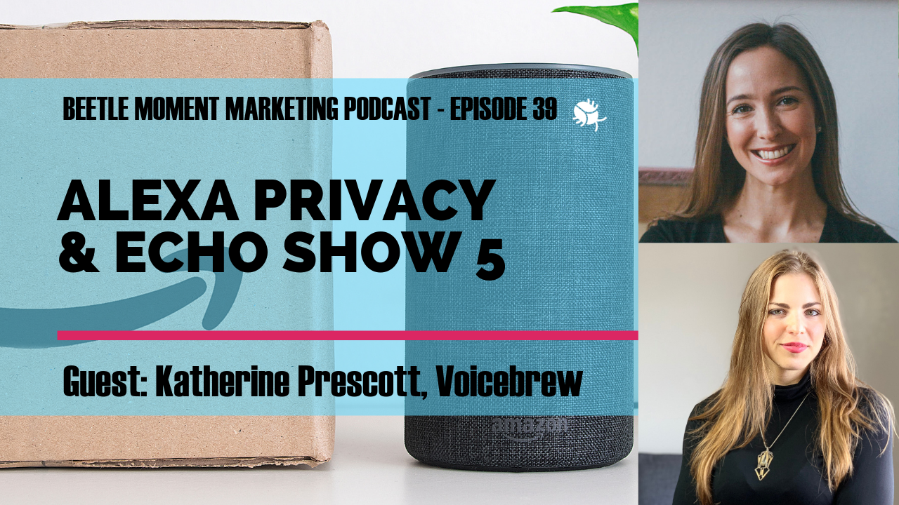 "Enjoy this episode about #voicefirst marketing and technology? Please leave us a review! 1)  Click ""Listen in Apple Podcasts"",  2) Click ""Open in iTunes:, 3) Click ""Ratings and reviews"". Thanks!"