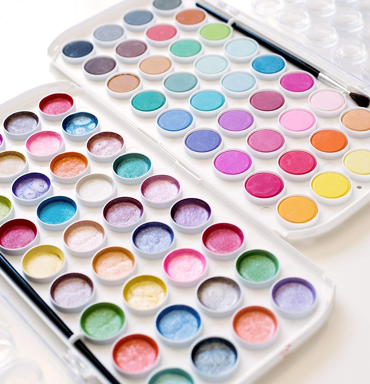Pearlescent Watercolors