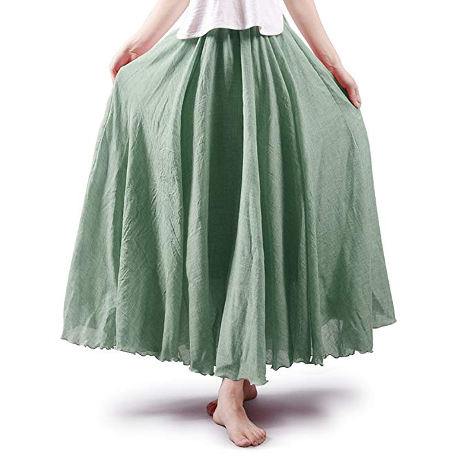 Full Circle Maxi Skirt