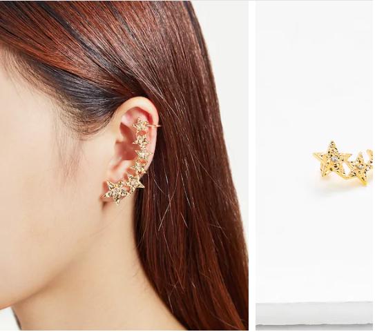 Star Ear Cuff