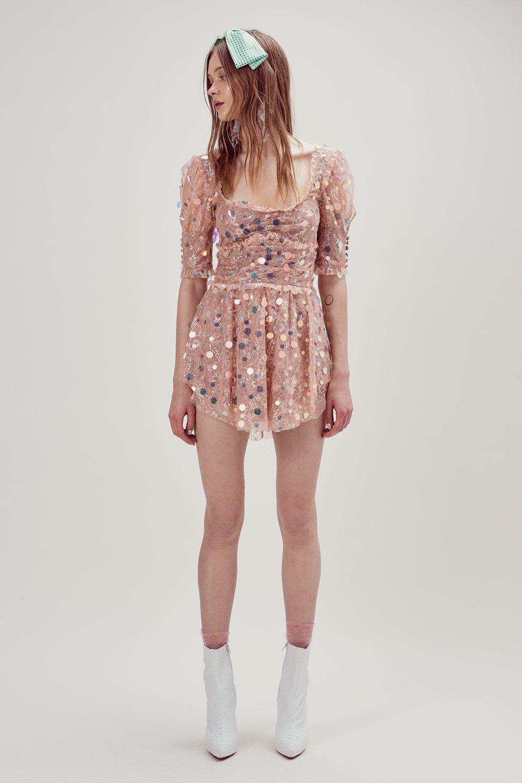 Pink Sparkle Dress