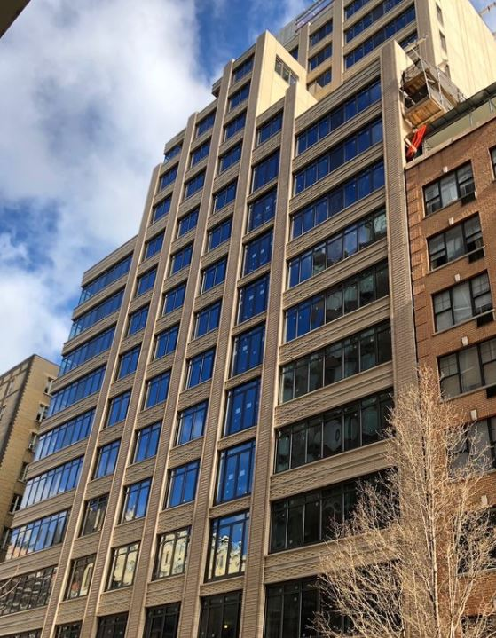 Progress At The Chamberlain - April 25, 2018Skyline Windows is making great progress at The Chamberlain, 269 West 87th Street. The new construction, located in Manhattan's Upper West Side is equipped with 39 residential units.Skyline manufactured and installed our Series DL97-4's and 1700 Terrace Doors.