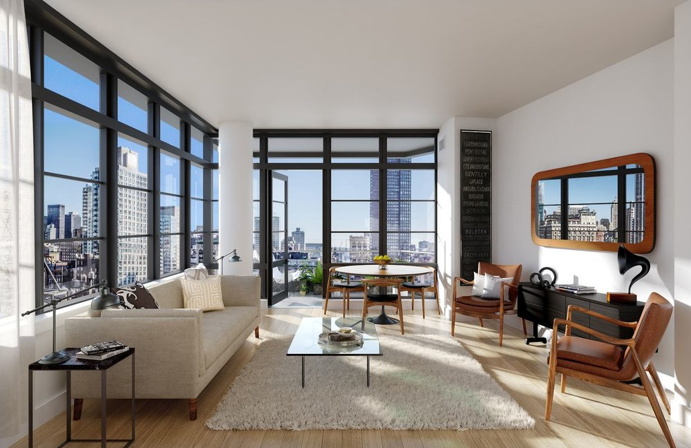 Check out Profile NYC's Coverage on The Noma - January 18, 2018Skyline Windows produced custom window walls and terrace doors throughout the entire 24-story newly developed condominium located at 50 West 30th.Click the photo for an inside look.