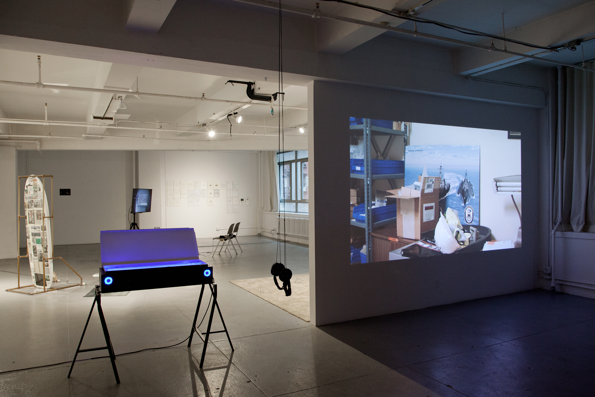 The Black Critique (Towards the Wild Beyond),  2017  Installation view (Elizabeth Foundation for the Arts, NY), Photo: Martha Fleming-Ives