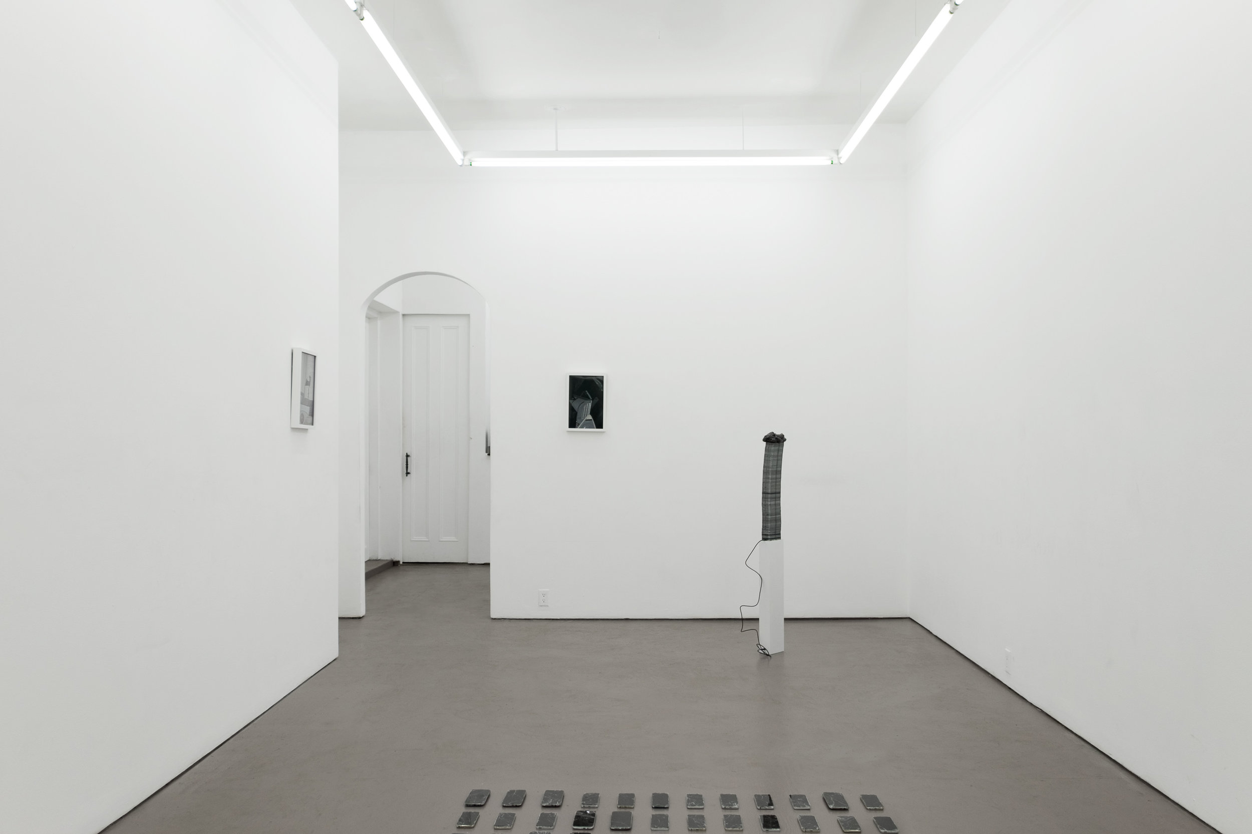Black Gooey Universe  (installation view, HOUSING, Brooklyn, NY)