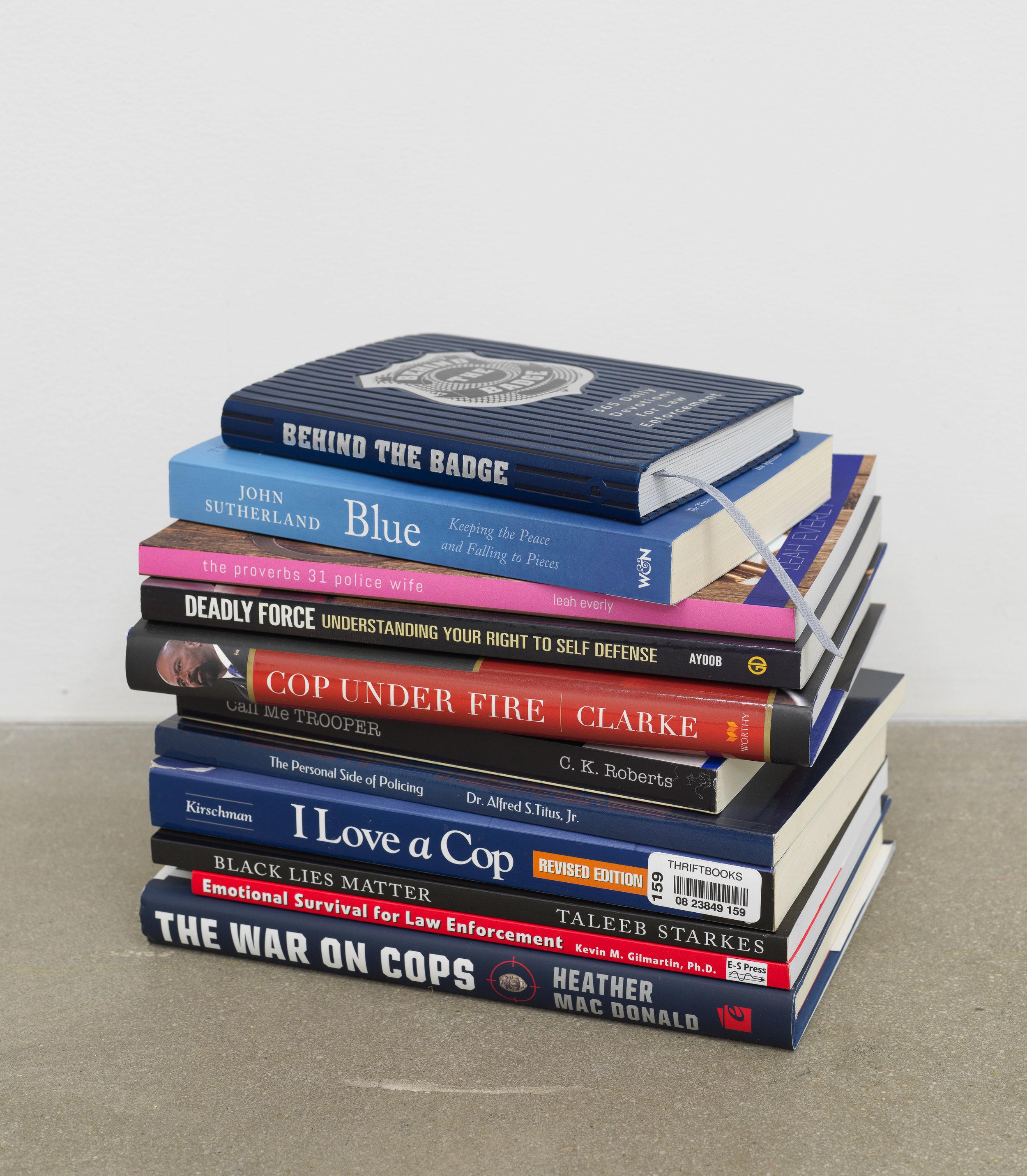 American Artist,  I'm Blue, Books , 2019, paperback books, dimensions variable
