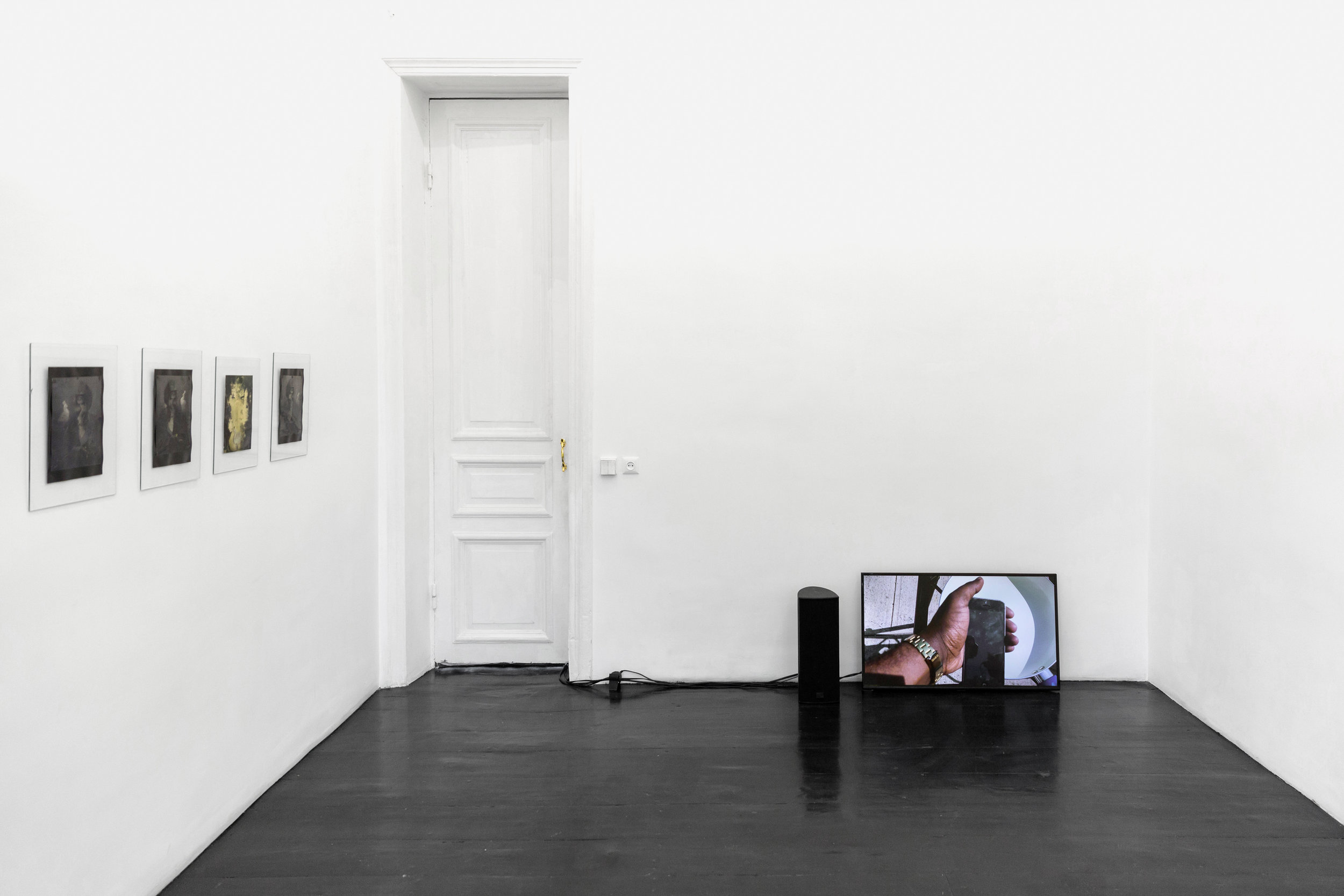 "Fixing the ""not... but""  (Installation view, LC QUEISSER, Tbilisi, Georgia), 2019"