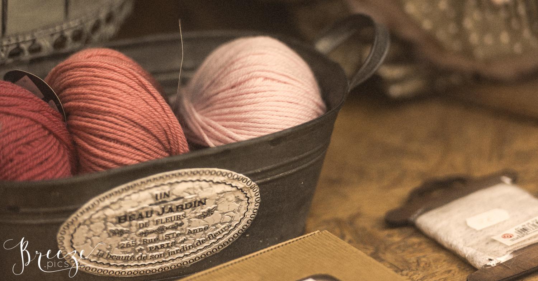 wool skeins craft photography Bernadette Meyers