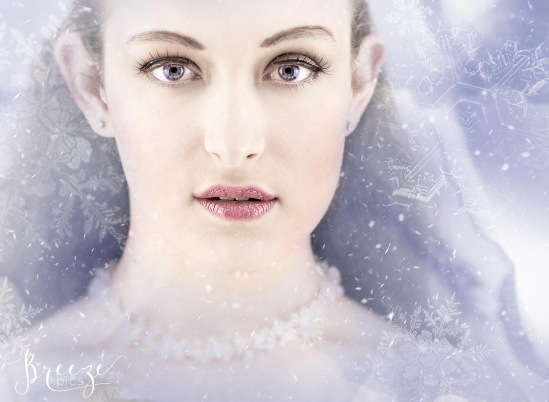 Ice Fairy Composite Portrait, Breeze Pics, Bernadette Meyers
