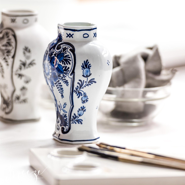 Delft Pottery Museum, Dutch Painting, Travel Photography, Bernadette Meyers