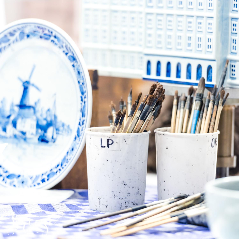 Delft Pottery Museum, Dutch Painting, The Netherlands, Travel Photography, Bernadette Meyers