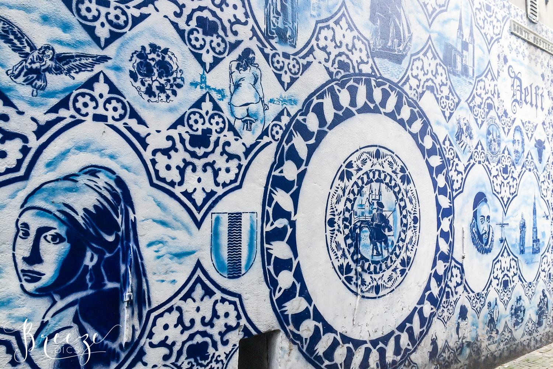Delft Street Art, Travel Photography, Breeze Pics