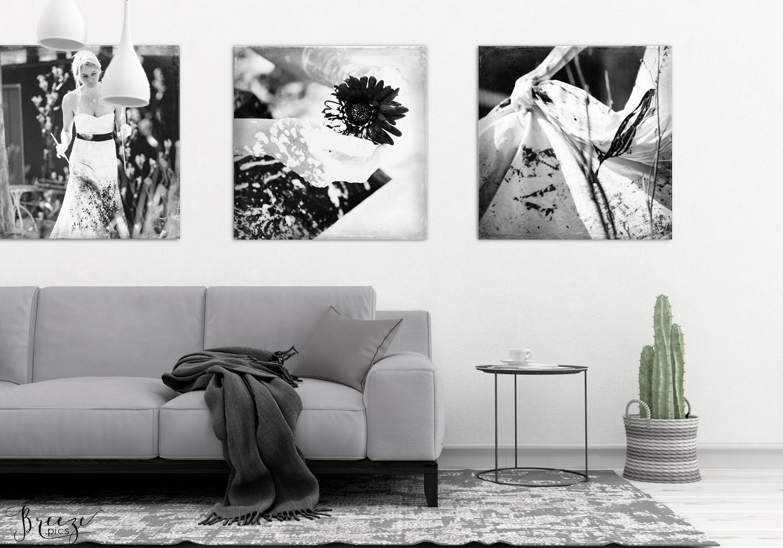 Black flower 'bloem' fine art nature photograph, home decor prints, Breeze pics