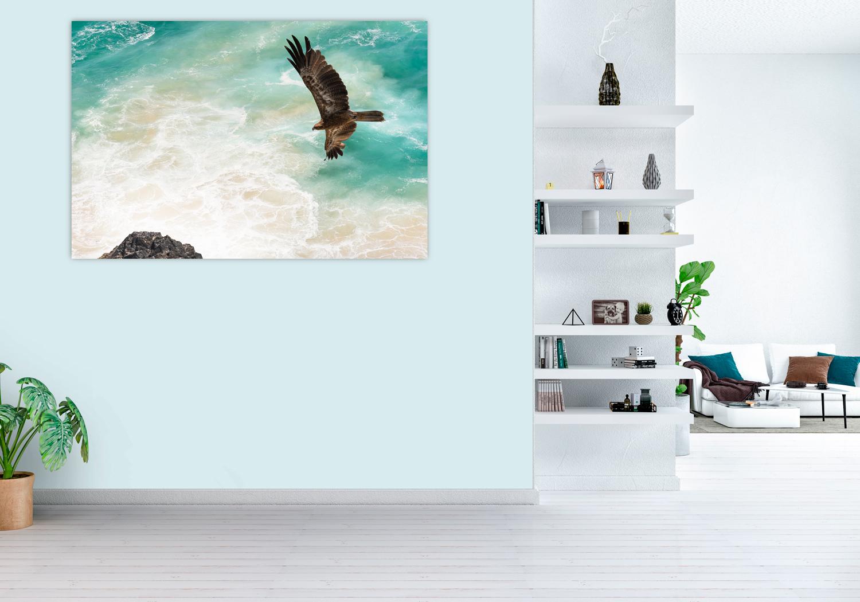 Ocean fine art photograph, home wall decor, Breeze Pics