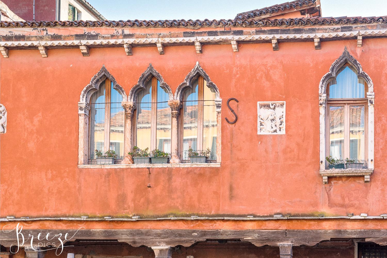 Burano window reflections, limited edition fine art wall decor print, Bernadette Meyers